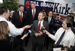 Illinois Republican Candidates Campaign in Champaign, IL