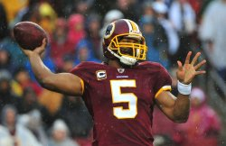 Washington Redskins' quarterback Donovan McNabb in Maryland