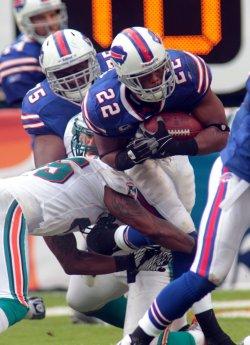 Bills Fred Jackson runs in Miami