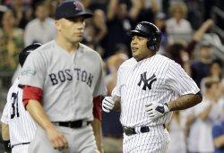 Yankees vs Red Sox at Yankee Stadium in New York