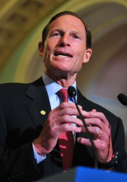 Sen. Blumenthal speaks on ethanol subsidies in Washington