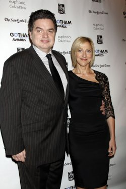 Oliver Platt and Edie Falco arrive for the Gotham Independent Film Awards in New York