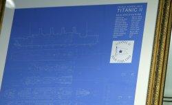 Titanic II blueprints in New York