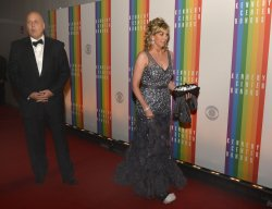 Cal Ripken and wife Kelly arrive for Kennedy Center Honors Gala in Washington DC