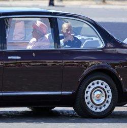 Queen Elizabeth II state visit in Paris