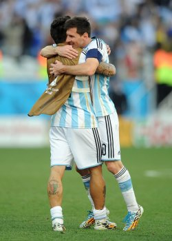 2014 FIFA World Cup Second Round - Argentina v Switzerland