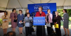 "DEMOCRATIC WOMEN SENATORS MAKE ""CHECKLIST FOR CHANGE"""