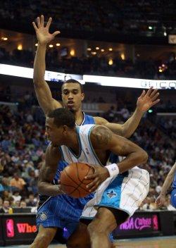 Orlando Magic vs New New Orleans Hornets in New Orleans