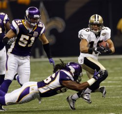 New Orleans Saints vs Minnesota Vikings at the Louisiana Superdome.