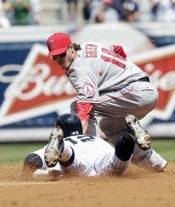 Yankees vs Angels at Yankees Stadium