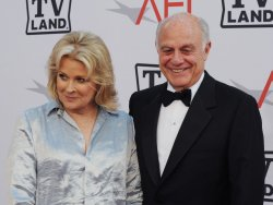Candice Bergen and Marshall Rose arrive at the AFI Lifetime Achievement Awards in Culver City, California