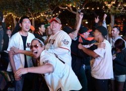San Francisco Giants win the World Series