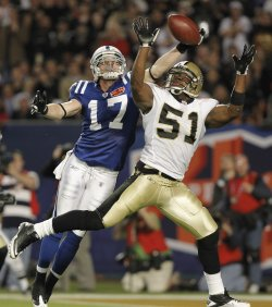 Super Bowl XLIV Indianapolis Colts vs. New Orleans Saints in Miami