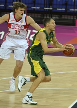 Lithuania-Russia men's basketball at 2012 Summer Olympics in London