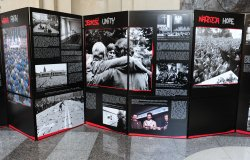 """The Phenomenon of Solidarity: Pictures from the History of Poland, 1980-1981"" photo exhibit opens in Washington"