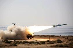 Iran Fires Qader Missile near the Strait of Hormuz