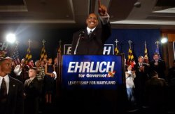 Ehrlich and Steele win Maryland Governors race