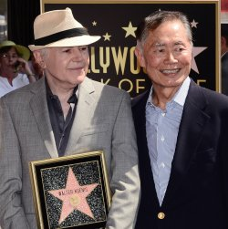 Walter Koenig receives a star on the Hollywood Walk of Fame in Los Angeles