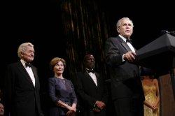 Bush attends Ford Theatre celebration