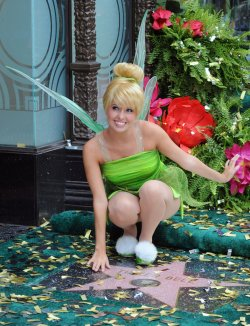 Tinker Bell receives star on the Hollywood Walk of Fame in Los Angeles