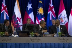 Obama Meets Trans-Pacific Partnership Leaders