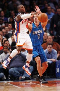 Orlando Magic vs New York Knicks in New York