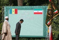 Senegal's President Abdoulaye Wade Visits Iran