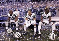 Jets Watch Colts Celebrate After Winning AFC