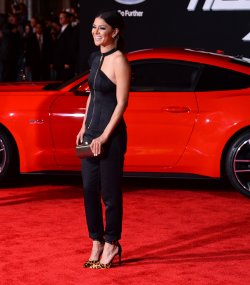 """""""Need for Speed"""" premiere held in Los Angeles"""