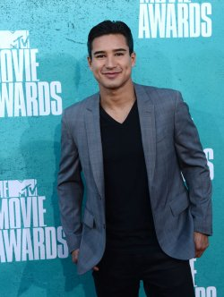 Mario Lopez arrives at the 2012 MTV Movie Awards in Universal City, California