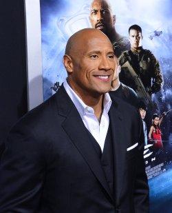 "Dwayne Johnson attends the ""G.I Joe: Retaliation"" premiere in Los Angeles"