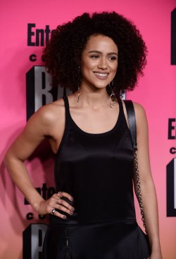 Nathalie Emmanuel attends Entertainment Weekly's Comic-Con Bash in San Diego