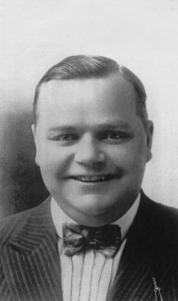 Actor Fatty Arbuckle in 1921