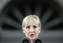 J.K. Rowling speaks at Harvard University Commencements Exercises