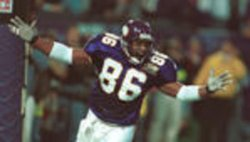 Vikings tight end John Davis