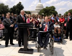 House members speak on the Americans with Disabilities Act in Washington