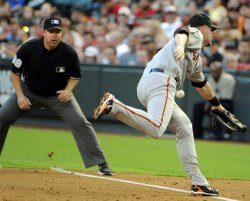 San Francisco Giants Play the Arizona Diamondbacks