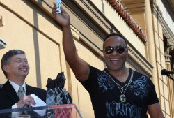 Ray Parker Jr. receives star on the Hollywood Walk of Fame in Los Angeles