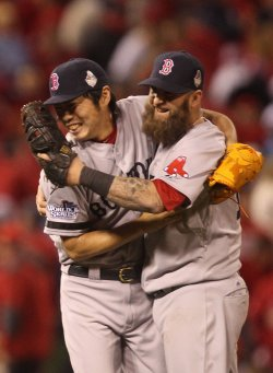 World Series Game 4 Boston Red Sox vs St. Louis Cardinals