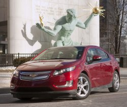 Chevy Volt wins 2011 Car of the Year in Detroit