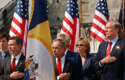 CORNERSTONE UNVEILED FOR FREEDOM TOWER ON WTC SITE