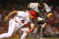 FLORIDA MARLINS VS ST. LOUIS CARDINALS BASEBALL