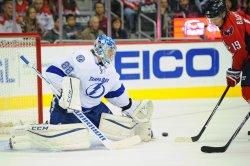 Vasilevskiy Save on Backstrom