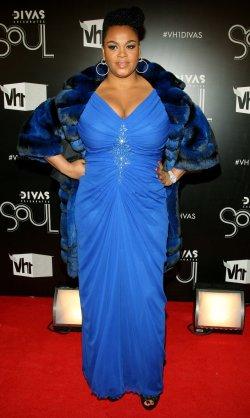 "Jill Scott arrives to the ""VH1 Divas Celebrates Soul"" concert in New York"