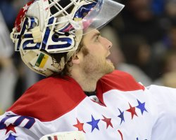 Washington Capitals Goalie Braden Holtby Scores in Pittsburgh