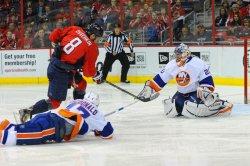 Washington Capitals vs New York Islanders in Washington