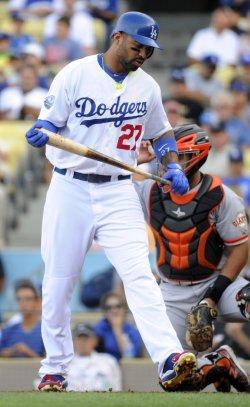Los Angeles Dodgers vs San Francisco Giants in Los Angeles, California