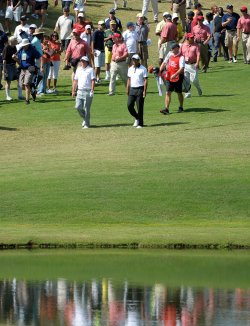 Round two of the PGA Tour Championship at East Lake Golf Club