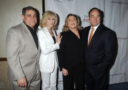 Dan Lauria, Judith Light, Kathleen Turner and Jim Belushi arrives for the Drama League Awards Ceremony and Luncheon