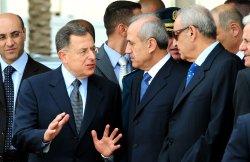 Lebanese President Michel Suleiman takes office